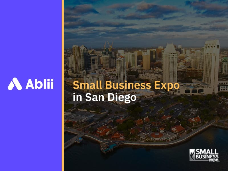 Ablii at the Small Business Expo, San Diego