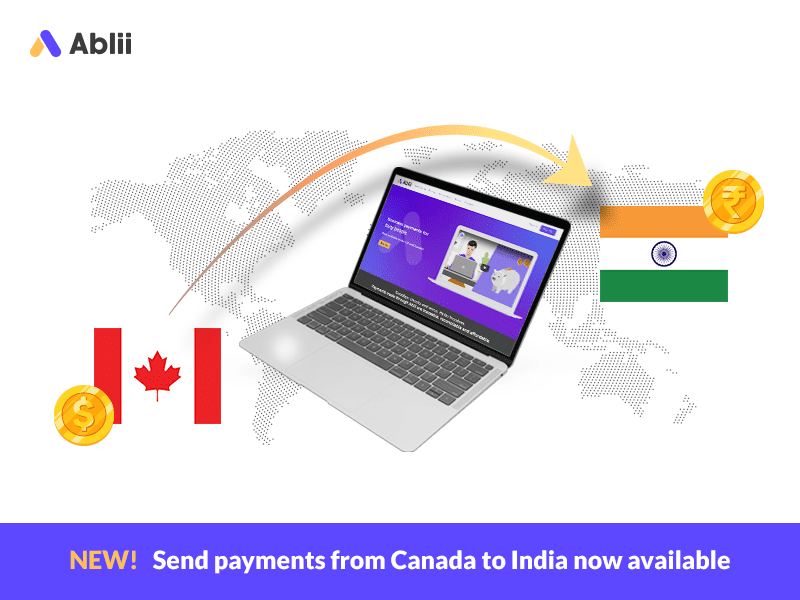 Payments from Canada to India are live!